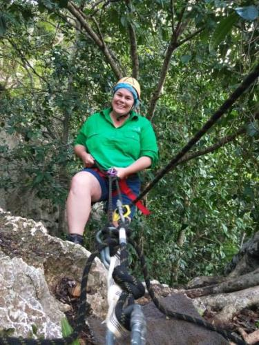 30th March Abseiling